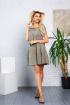 Платье DoMira 01-427 хаки