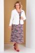 Жакет,  Платье Algranda by Новелла Шарм А3265-комплект 2-х предметный