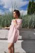Платье Lady Smile 1008 розовый
