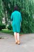 Платье Дорофея 530 зеленый