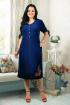 Платье Tensi 238 темно-синий