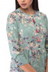 Платье Anelli 833 бирюза_крупные_цветы