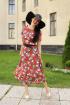 Платье,  Пояс YFS 6134 красный
