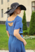 Платье,  Пояс YFS 6134 синий