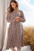 Платье Prestige 3911/164 черно-бежевый
