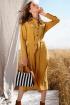 Платье Prestige 3915/164 горчица