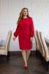 Платье SOVITA П-721 красный
