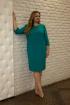 Платье SOVITA П-590 бирюза