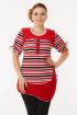 Блуза DaLi 1383 красная