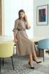 Платье LadisLine 1265 кофе