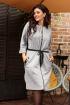 Платье Мода Юрс 2590 серый