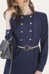 Платье ELLETTO LIFE 1789 синий