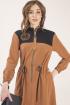 Платье ELLETTO LIFE 1788 коричневый