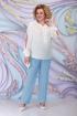 Блуза,  Брюки,  Жакет Ninele 5799 голубой
