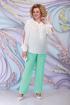 Блуза,  Брюки,  Жакет Ninele 5799 светло-зеленый