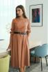 Платье LadisLine 1265 терракот