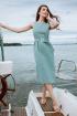 Платье,  Пояс Madech 205358 серовато-зеленый
