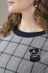 Блуза ELLETTO 3300 синий