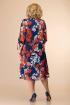 Платье Romanovich Style 1-2043 красный/синий