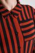Платье Дорофея 580 черный,рыжий