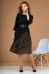 Платье Liona Style 756 черный