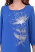 Платье Мишель стиль 888 голубой