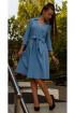 Платье Arisha 1133-1 голубой