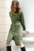 Платье,  Пояс Prestige 3941/170 зелёный