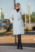 Пальто Lady Secret 6291 серый