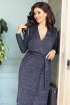 Платье Мода Юрс 2541 темно-синий