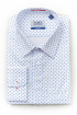 Рубашка Nadex 292025И_170 бело-голубой