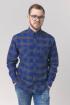 Рубашка Nadex 295024И_170 сине-серый