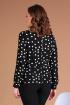 Блуза Liona Style 763Б горох