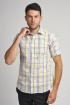 Рубашка Nadex 923014И_170 желто-белый