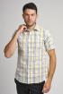 Рубашка Nadex 923014И_182 желто-белый