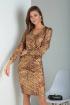 Платье Viola Style 0934 коричневый