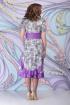 Платье Ninele 927 цветы