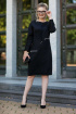 Платье Euromoda 298 черное