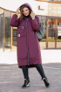 Пальто Lady Secret 6274 бордо