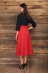 Платье Angelina & Сompany 426 синий-красный