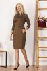 Платье Bazalini 3482 коричневый