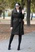 Пальто DOGGI 6289 черный