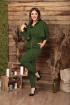 Брюки,  Куртка Anastasia 499 зеленый
