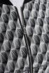 Бомбер Дорофея 431 черный,серый