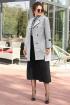 Пальто Мода Юрс 2596 серый