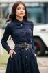 Рубашка JKY B-003 темно-синий