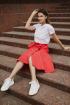 Юбка Legend Style S-009 красный