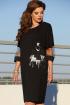 Платье Vittoria Queen 13003 черный