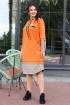 Платье Мода Юрс 2598 оранжевый