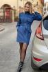 Платье S.O.L O Me 745 синий